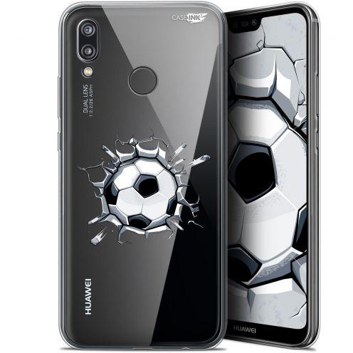 """Carcasa Gel Extra Fina Huawei P20 Lite (5.84"""") Design Le Balon de Foot"""