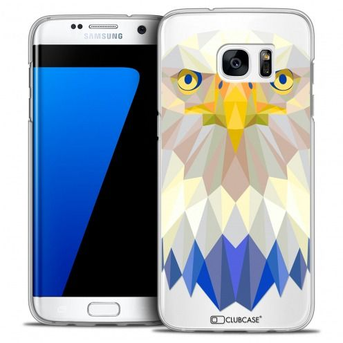 Carcasa Crystal Extra Fina Galaxy S7 Edge Polygon Animals Águila