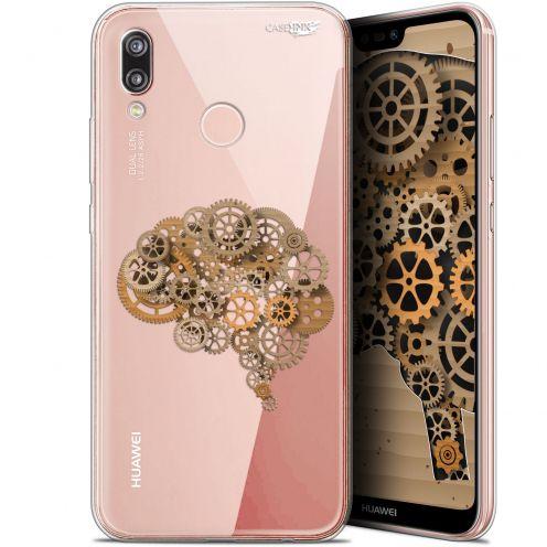 "Carcasa Gel Extra Fina Huawei P20 Lite (5.84"") Design Mécanismes du Cerveau"