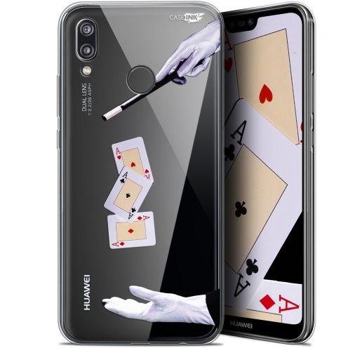"Carcasa Gel Extra Fina Huawei P20 Lite (5.84"") Design Cartes Magiques"