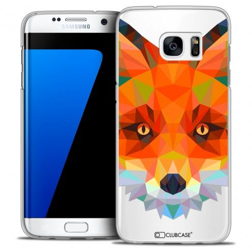 Carcasa Crystal Extra Fina Galaxy S7 Edge Polygon Animals Zorro