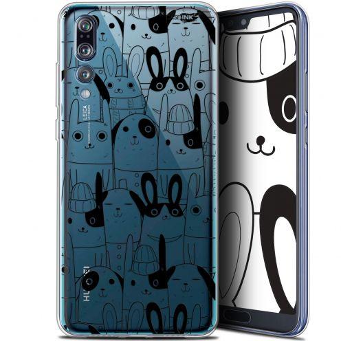 "Carcasa Gel Extra Fina Huawei P20 Pro (6.1"") Design Lapin Noir"