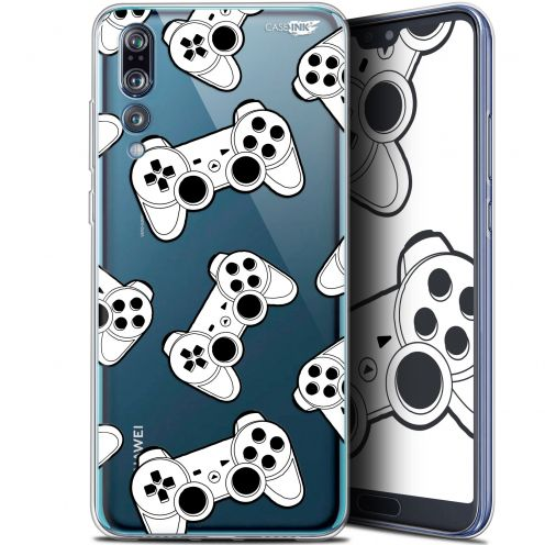 "Carcasa Gel Extra Fina Huawei P20 Pro (6.1"") Design Game Play Joysticks"
