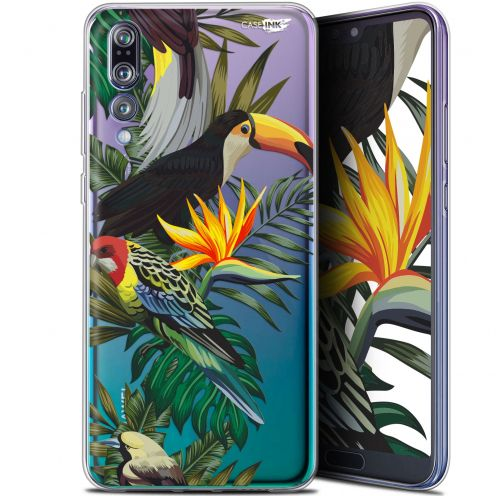 "Carcasa Gel Extra Fina Huawei P20 Pro (6.1"") Design Toucan Tropical"