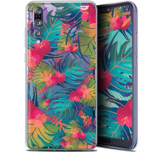 "Carcasa Gel Extra Fina Huawei P20 Pro (6.1"") Design Couleurs des Tropiques"