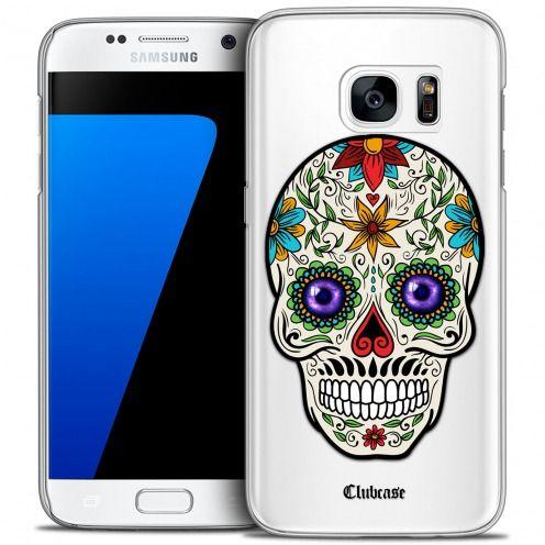 Carcasa Crystal Extra Fina Galaxy S7 Skull Maria's Flower
