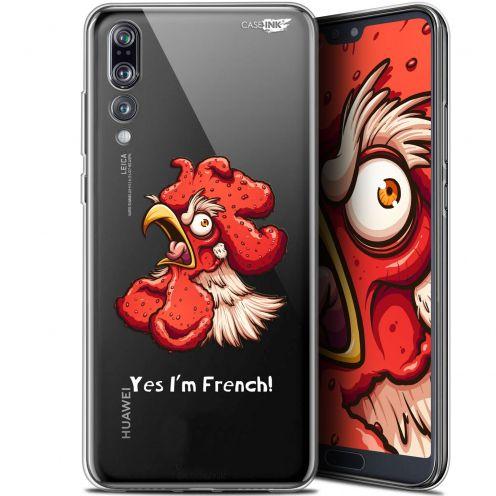 """Carcasa Gel Extra Fina Huawei P20 Pro (6.1"""") Design I'm French Coq"""