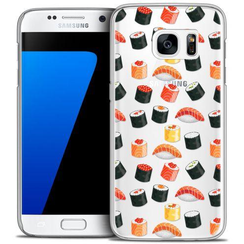 Carcasa Crystal Extra Fina Galaxy S7 Foodie Sushi