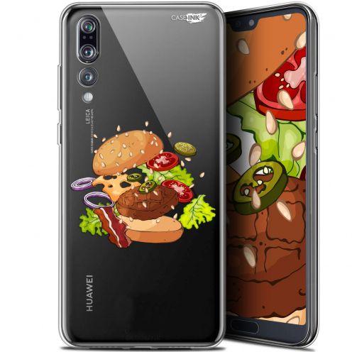"Carcasa Gel Extra Fina Huawei P20 Pro (6.1"") Design Splash Burger"