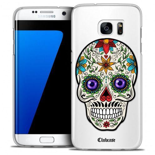 Carcasa Crystal Extra Fina Galaxy S7 Edge Skull Maria's Flower