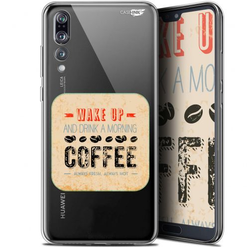 "Carcasa Gel Extra Fina Huawei P20 Pro (6.1"") Design Wake Up With Coffee"