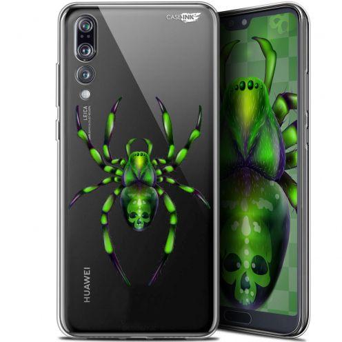 """Carcasa Gel Extra Fina Huawei P20 Pro (6.1"""") Design Arraignée Verte"""