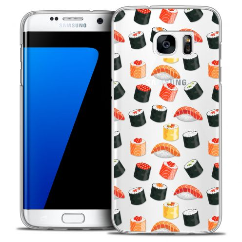 Carcasa Crystal Extra Fina Galaxy S7 Edge Foodie Sushi