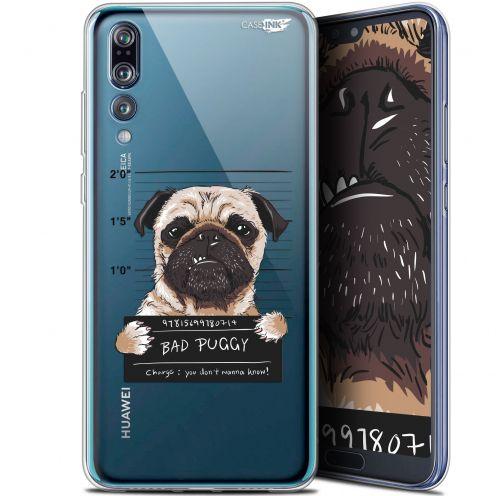 "Carcasa Gel Extra Fina Huawei P20 Pro (6.1"") Design Beware The Puggy Dog"