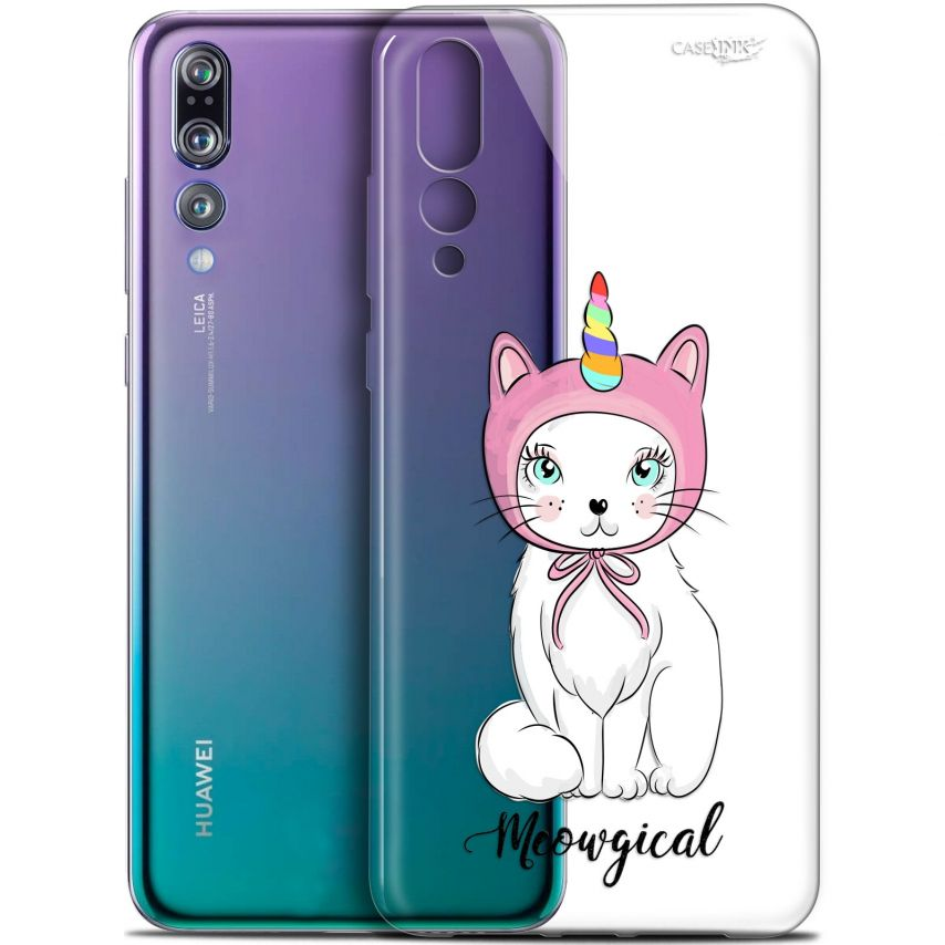 "Carcasa Gel Extra Fina Huawei P20 Pro (6.1"") Design Ce Chat Est MEOUgical"