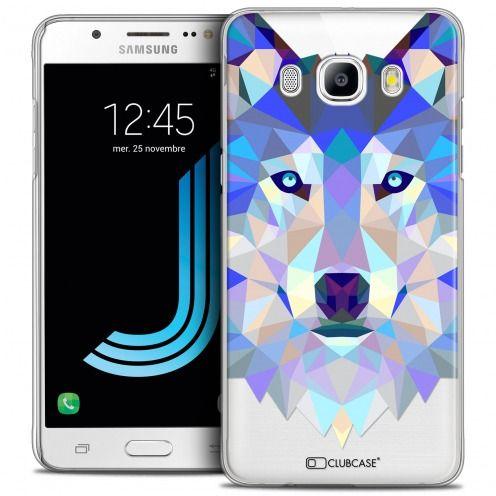 Carcasa Crystal Extra Fina Galaxy J5 2016 (J510) Polygon Animals Lobo
