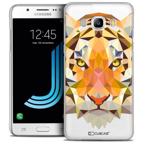 Carcasa Crystal Extra Fina Galaxy J5 2016 (J510) Polygon Animals Tigre