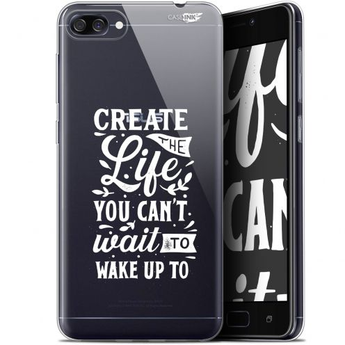 "Carcasa Gel Extra Fina Asus Zenfone 4 Max ZC520KL (5.2"") Design Wake Up Your Life"