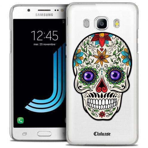 Carcasa Crystal Extra Fina Galaxy J5 2016 (J510) Skull Maria's Flower