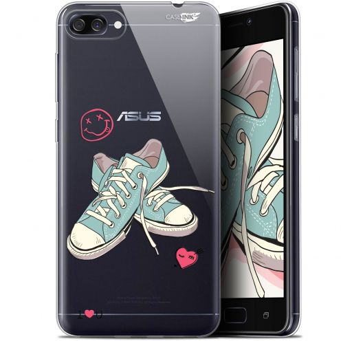 "Carcasa Gel Extra Fina Asus Zenfone 4 Max ZC520KL (5.2"") Design Mes Sneakers d'Amour"