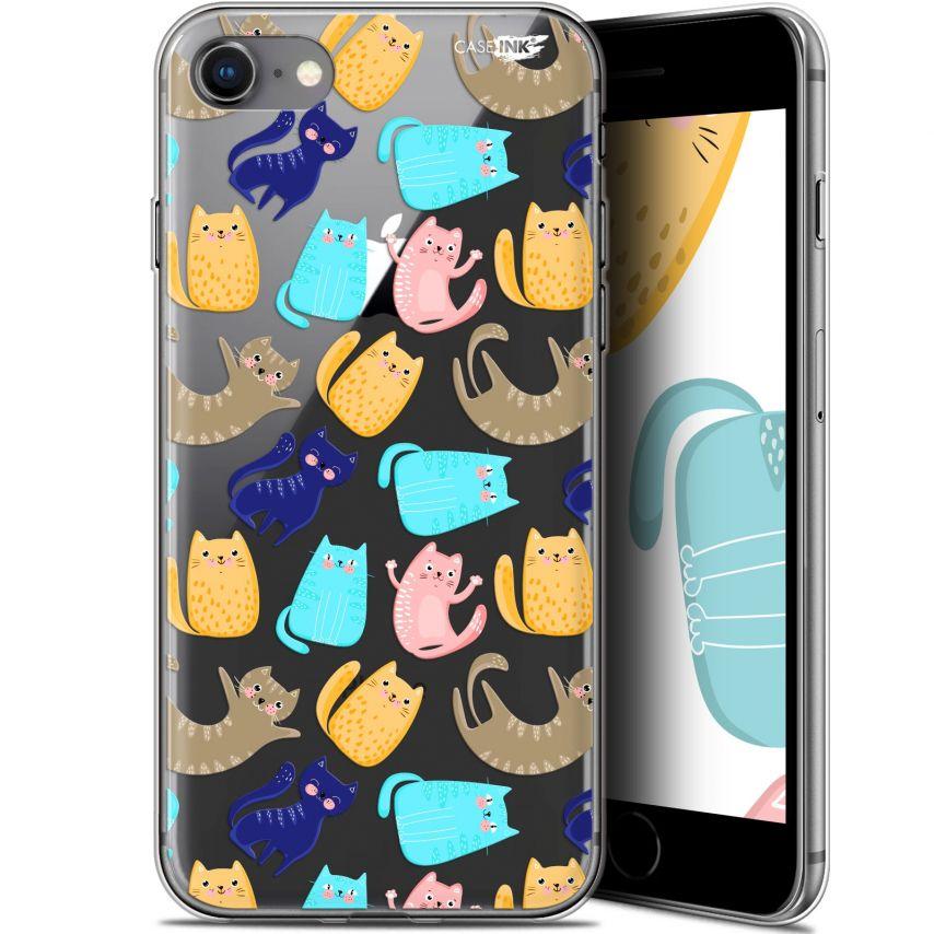 "Carcasa Gel Extra Fina Apple iPhone 7/8 (4.7"") Design Chat Danse"