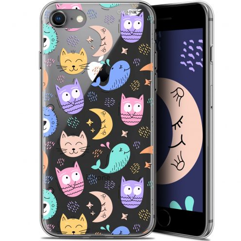 "Carcasa Gel Extra Fina Apple iPhone 7/8 (4.7"") Design Chat Hibou"