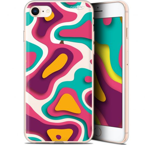 "Carcasa Gel Extra Fina Apple iPhone 7/8 (4.7"") Design Popings"