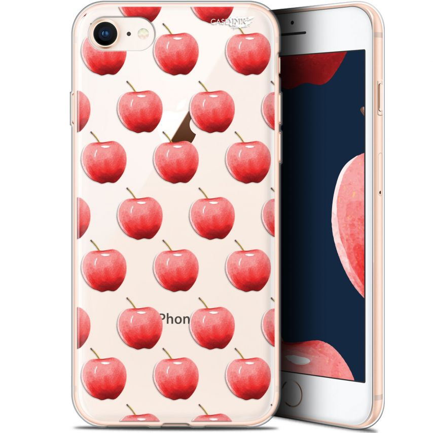 "Carcasa Gel Extra Fina Apple iPhone 7/8 (4.7"") Design Cerises"