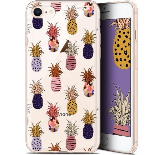 "Carcasa Gel Extra Fina Apple iPhone 7/8 (4.7"") Design Ananas Gold"