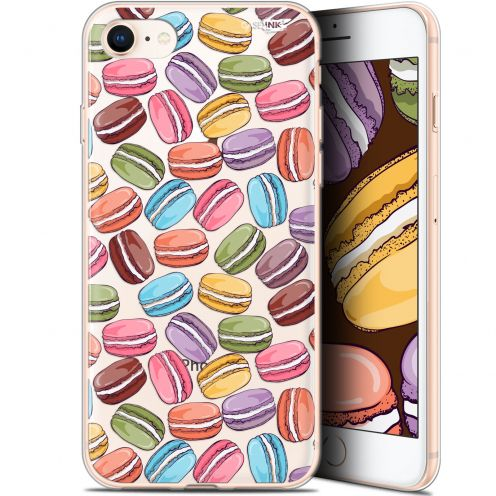 "Carcasa Gel Extra Fina Apple iPhone 7/8 (4.7"") Design Macarons"