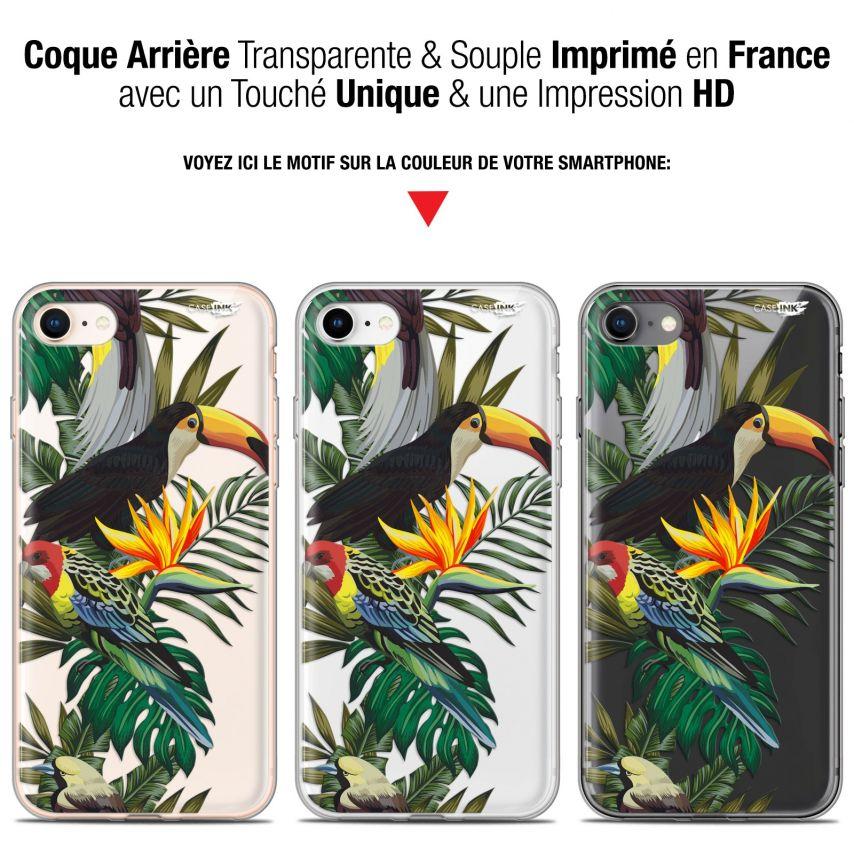 "Carcasa Gel Extra Fina Apple iPhone 7/8 (4.7"") Design Toucan Tropical"