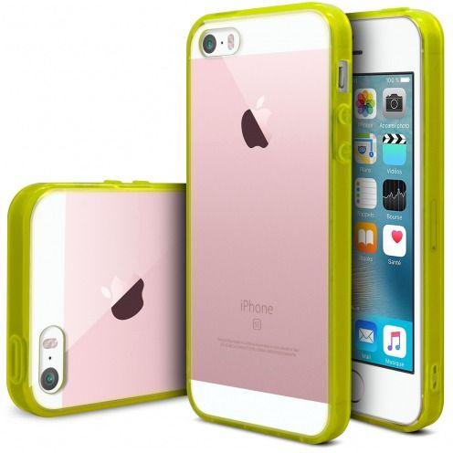 Carcasa iPhone SE/5/5S Scene Crystal Bimaterial Amarillo