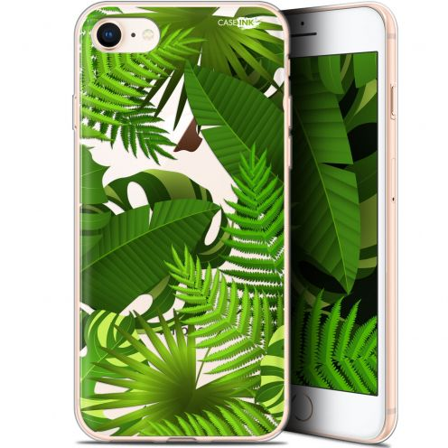 "Carcasa Gel Extra Fina Apple iPhone 7/8 (4.7"") Design Plantes des Tropiques"