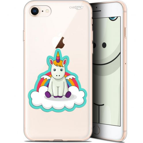 "Carcasa Gel Extra Fina Apple iPhone 7/8 (4.7"") Design Bébé Licorne"