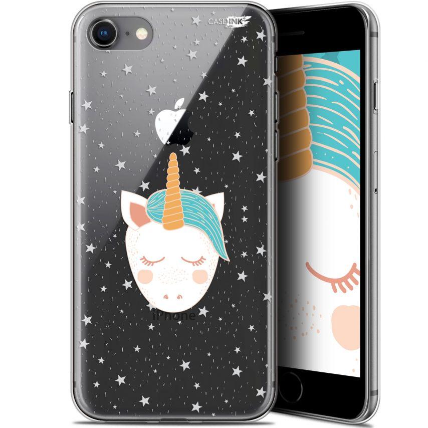 "Carcasa Gel Extra Fina Apple iPhone 7/8 (4.7"") Design Licorne Dors"