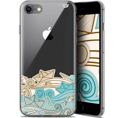 """Carcasa Gel Extra Fina Apple iPhone 7/8 (4.7"""") Design Bateau de Papier"""