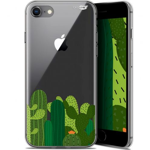 "Carcasa Gel Extra Fina Apple iPhone 7/8 (4.7"") Design Cactus"