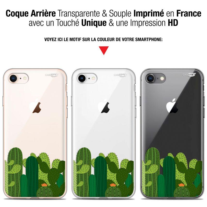 "Carcasa Gel Extra Fina Apple iPhone 7/8 (4.7"") Design Cactus"