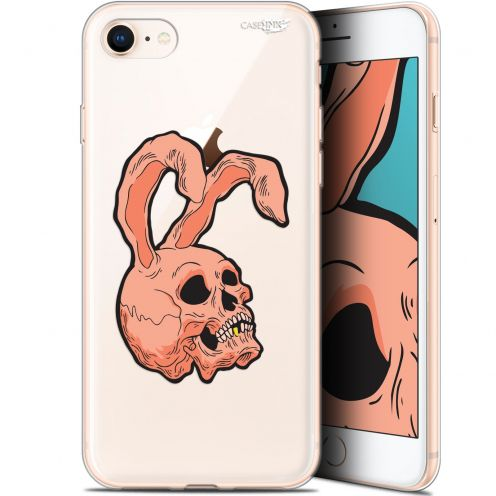 "Carcasa Gel Extra Fina Apple iPhone 7/8 (4.7"") Design Rabbit Skull"
