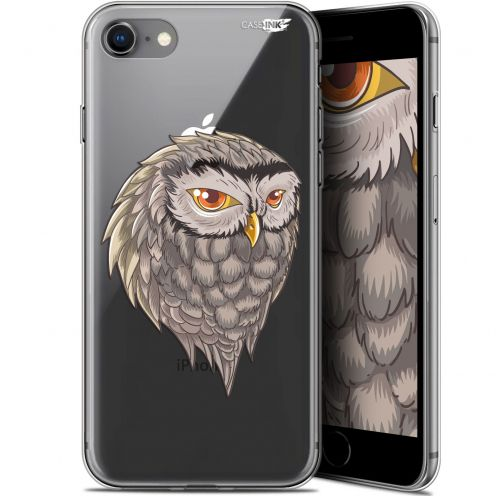 "Carcasa Gel Extra Fina Apple iPhone 7/8 (4.7"") Design Hibou Draw"