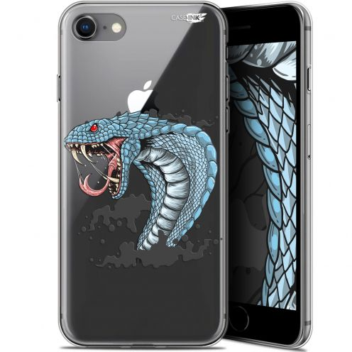 "Carcasa Gel Extra Fina Apple iPhone 7/8 (4.7"") Design Cobra Draw"