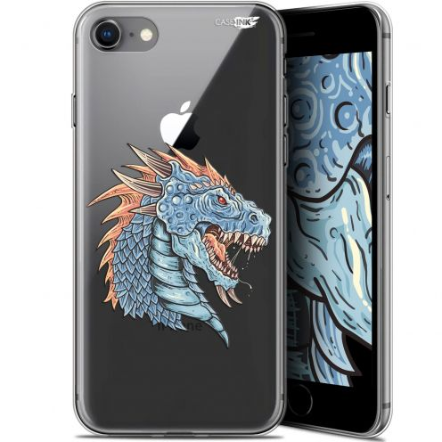 "Carcasa Gel Extra Fina Apple iPhone 7/8 (4.7"") Design Dragon Draw"