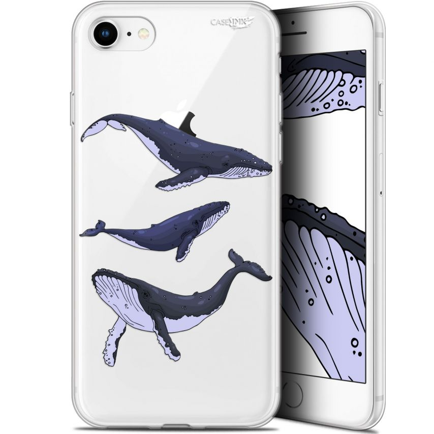 "Carcasa Gel Extra Fina Apple iPhone 7/8 (4.7"") Design Les 3 Baleines"