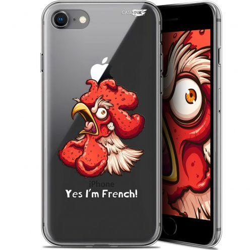 "Carcasa Gel Extra Fina Apple iPhone 7/8 (4.7"") Design I'm French Coq"