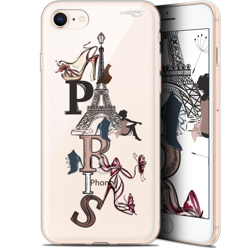 "Carcasa Gel Extra Fina Apple iPhone 7/8 (4.7"") Design Stylish Paris"