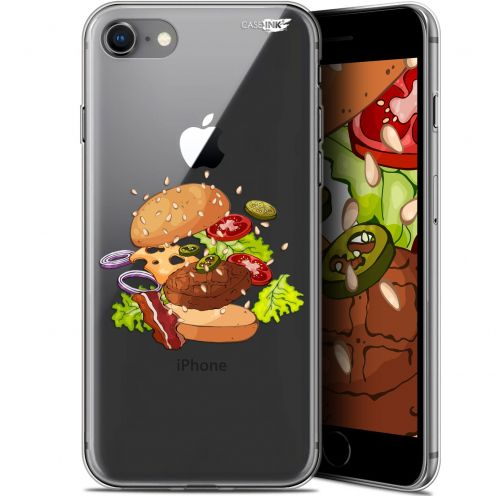"Carcasa Gel Extra Fina Apple iPhone 7/8 (4.7"") Design Splash Burger"
