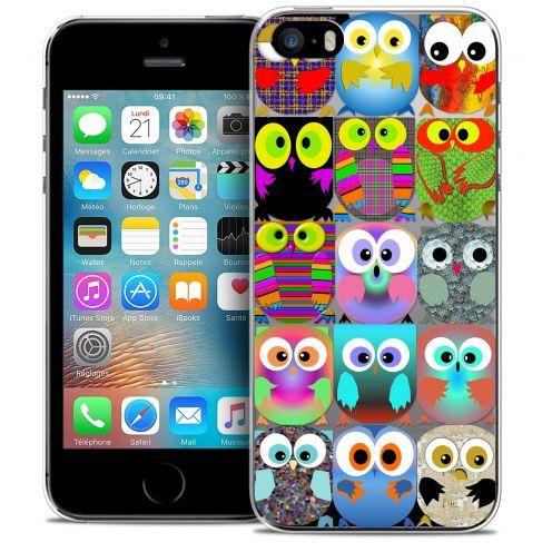 Carcasa Crystal Extra Fina iPhone 5/5s/SE Claude Hibous