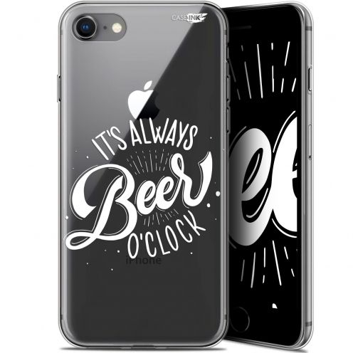 "Carcasa Gel Extra Fina Apple iPhone 7/8 (4.7"") Design Its Beer O'Clock"