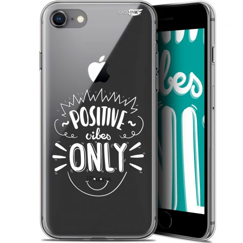 "Carcasa Gel Extra Fina Apple iPhone 7/8 (4.7"") Design Positive Vibes Only"