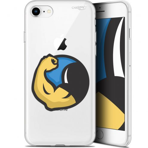 "Carcasa Gel Extra Fina Apple iPhone 7/8 (4.7"") Design Monsieur Muscle"